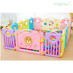 Playset fence