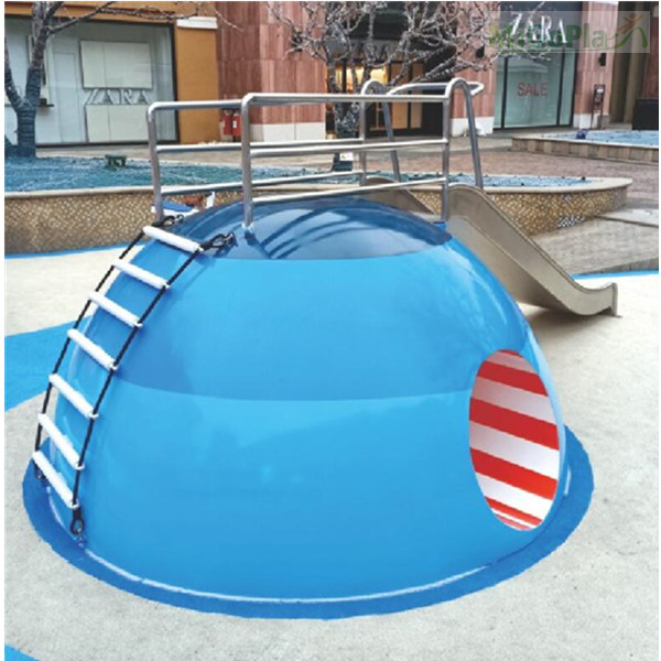 Non-standard playground equipment-clown